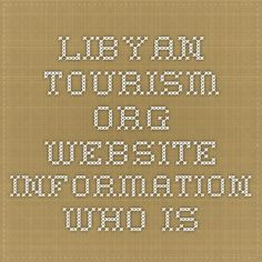 Libyan-tourism.org Website Information - Who.is