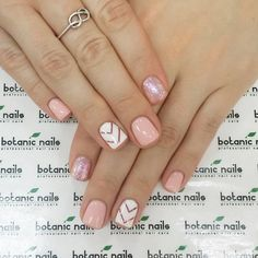 51 amazing spring nail art designs ideas to try in 2020 7 Cute Acrylic Nails, Acrylic Nail Designs, Cute Nails, Pretty Nails, Sns Nail Designs, Pink Nails, My Nails, Chevron Nails, Gelish Nails