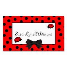27 best leopard business cards images on pinterest business card ladybugs polka dots mommy card colourmoves