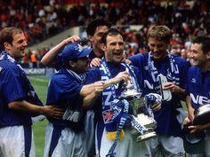 Dave Watson - Our last EFC captain to taste Cup success. Legend!