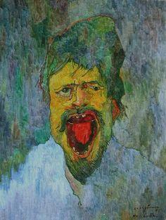 """Bernardo CRESPIN : """"No Bulla"""" ; 1975 ; oleo sobre tela ; colección MDAA (adquirido de la galería Humberto Saravia)"""