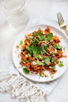 Thai Spiced Sweet Potatoes (via abeautifulmess.com)