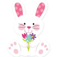 Easter Bunny Cutout 15in