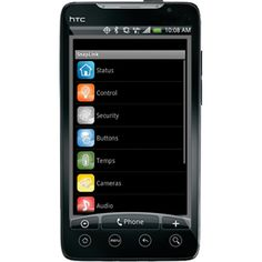 HAI Android Phone Home Automation Interface - Stylish and Pretty Cool