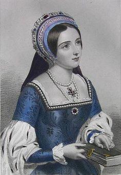 Katherine Parr -  Queens of England. Part II.