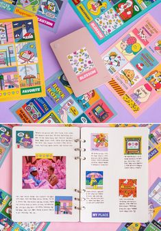 Bullet Journal School, Bullet Journal Ideas Pages, Book Design, Layout Design, Web Design, Graphic Design, Spot Illustration, Planner Stickers, Journal Stickers