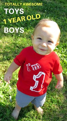 What to get one year old boys? What toys to buy 1 year old boys! Find The Top Christmas and Birthday Presents for 1 Year Old Boys! 1 Year Old Girl, One Year Old Baby, Toys For 1 Year Old, Best Toddler Toys, Toddler Boy Gifts, Toddler Boys, Toy Story Birthday, Boy First Birthday, Birthday Ideas