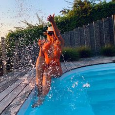 "Chanelle🌹 (@chanelleofficial_) posted on Instagram: ""Summer❤️  #summer2020 #switzerland #pool #water #wine #chanelle #orange #girly"" • Aug 8, 2020 at 6:39pm UTC"