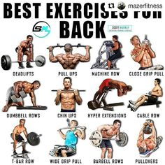 Build chest muscles as part of your bodybuilding program, and you will be taking an important step towards both looking and becoming stronger. Chest muscles are Fitness Workouts, Gym Workout Tips, Weight Training Workouts, Fitness Tips, Fitness Motivation, Workout Exercises, Traps Workout, Gym Fitness, Best Lat Exercises