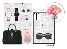 """""""It's all about the details"""" by sannalindstrom on Polyvore featuring Mr Perswall, INC International Concepts, NARS Cosmetics, Yves Saint Laurent and Marc by Marc Jacobs"""