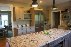 Our friends at Riley Kitchen & Bath designed this Showplace. Featured here, our Driftwood stain. Your hard work and dedication to our line of cabinetry in Rhode Island is very much appreciated; thank you!  Learn more about Riley Kitchen & Bath: http://www.rileykitchens.com/ Learn more about Showplace Wood Products: http://www.showplacewood.com/