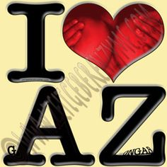 "Grand Canyon.  Grand Gazongas. Up close ""I [heart] AZ"" actually reads ""I love g-AZ-ongas"".  http://www.cafepress.com/thenaughtynook/9990946"