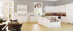 romantisk kjøkken fra hth more hth kjøkken kjøkken inspirasjon new ...