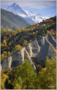 Pyramides d'Euseigne - Valais, Switzerland