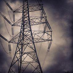 #imposing #steel #metal #power #tower #clouds #cloudporn - @geeksquared | Webstagram
