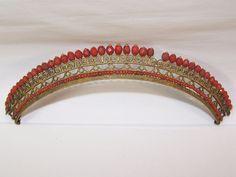 Coral tiara 1810