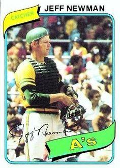 1980 Topps #34 Jeff Newman DP - Oakland Athletics (Baseball Cards) by Topps. $0.88. 1980 Topps #34 Jeff Newman DP - Oakland Athletics (Baseball Cards)