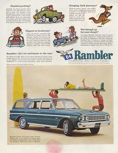 Rambler Classic 770 Cross Country Station Wagon