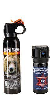 Protection Pack! Guard Alaska® 9 oz. Bear Pepper Spray Repellant & Pepper Enforcement® 2 oz. Max Strength Law Enforcement OC Pepper Spray w/ UV Marker Dye GUARD ALASKA http://www.amazon.com/dp/B00H8A8C78/ref=cm_sw_r_pi_dp_R9Gjub0WPKMMB