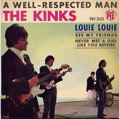 theswinginsixties:  The Kinks – A Well Respected Man - 1965 record sleeve