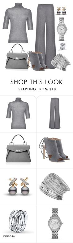"""Grey"" by lovelyluella ❤ liked on Polyvore featuring Blumarine, Proenza Schouler, BOSS Hugo Boss, Miss Selfridge and FOSSIL"