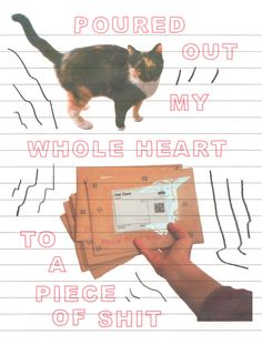 """demiiwhiffin: """"be careful // cardi b """" Les Sentiments, Pretty Words, Word Art, Zine, Wall Collage, Aesthetic Wallpapers, Art Inspo, Artsy, Graphic Design"""