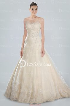 Charming Sweetheart Princess Wedding Gown Featuring Beaded Lace Applique and Detachable Illusion Neckline