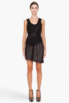 Rag & Bone's Marcus dress is such an amazing take on your classic LBD.