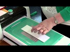 Die Cutting with Card Demo | TODO - YouTube
