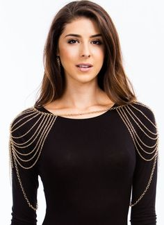Over The Shoulders Body Chain