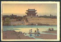 Daedong Gate(1937) - Yoshida Hiroshi / 대동문(1939) - 요시다 히로시