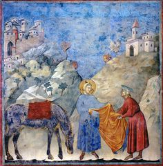 Giotto,Storie di San Francesco 1290-1295, Assisi Basilica superiore