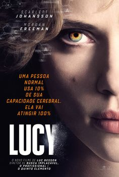 Lucy - film by Luc Besson with Scarlett Johansson and Morgan Freeman - an absolute impressive film - a must ! Film D'action, Bon Film, Film Serie, Movies 2014, Sci Fi Movies, Good Movies, Watch Movies, Movies Free, Cinema Movies