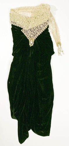 1921-1922 Dress by Callot Soeurs, French.
