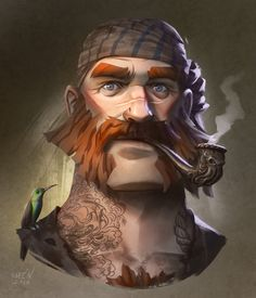 Character Portraits (weareadventurers: Pirates by Magnus Norén ...)