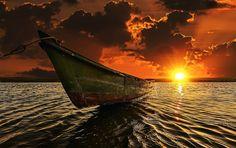 Sunshine on the River - Barra do Ipanema  Belo Monte - Alagoas - Brasil  Photo and Retouch: Jackson Carvalho  www.artedigitalstudio.com.br  © 2015, All Rights Reserved