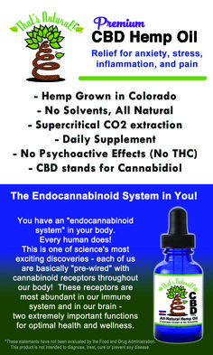 The Endocannabinoid System is in YOU!  You are pre-wired to use Cannabidiol, or CBD Oil - see more at www.cbdoil.life!