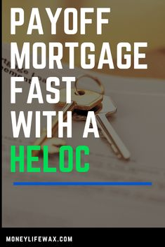 How to Use a HELOC to Payoff Your Mortgage Fast Wow, my husband found this and I couldn& be more excited to read it. We hate having a house payment. This is crazy but we are excited to see how it works! How to Use a HELOC to Payoff Your Mortgage Fast! Student Loan Calculator, Student Loan Help, Apply For Student Loans, Paying Off Student Loans, Paying Off Mortgage Faster, Mortgage Tips, Mortgage Payment, Home Equity, Loans For Bad Credit