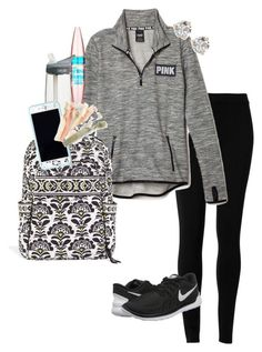 """""""Thank you thank you thank you for 600!!!"""" by erinlmarkel ❤ liked on Polyvore featuring Max Studio, Maybelline, CamelBak, Vera Bradley, Lilly Pulitzer, NIKE, Kate Spade, women's clothing, women and female"""