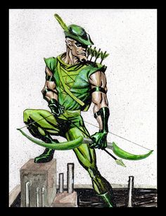 """Green Arrow by Gary Shipman  ✮✮""""Feel free to share on Pinterest"""" ♥ღ www.unocollectibles.com"""