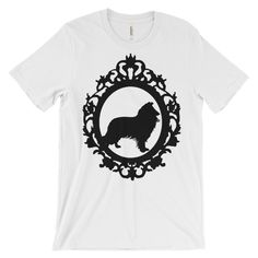 Collie Cameo - Unisex short sleeve t-shirt