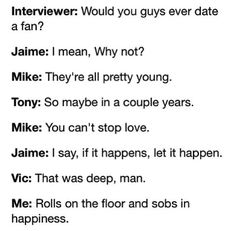 This Gives Me Hope...... But Vic Is 31 Thats Only 5 Years Younger Than My Mom Soooo Ummm Maybe Not...... Lol