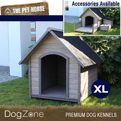 NEW-Extra-Large-Somerset-A-Frame-Wooden-Dog-House-Wood-Timber-XL-Kennel