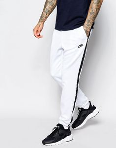 Image 1 - Nike - Tribute 678637-100 - Pantalon de jogging skinny - Blanc