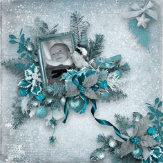 Blue Christmas by blondy99s - Cards and Paper Crafts at Splitcoaststampers