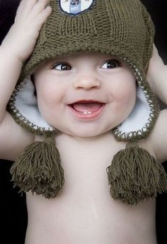 Adorable happy baby! http://www.weightlossworld.co.uk/blog/top-tips-to-look-your-best-shape-for-valentines-day_69/
