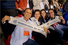 Faixa de Campeão - Santos FC