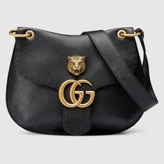 Gucci Women - GG Marmont leather shoulder bag - 409154A7M0T1000