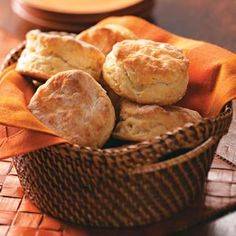 Rolled Buttermilk Biscuits Recipe from Taste of Home -- shared by Patricia Kile of Elizabeth, Pennsylvania