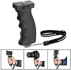 Pro Video Stabilizing Handle Grip for Fujifilm X-A2 Vertical Shoe Mount Stabilizer Handle